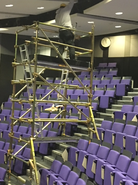 Tiered Seating Scaffold Lobo Systems